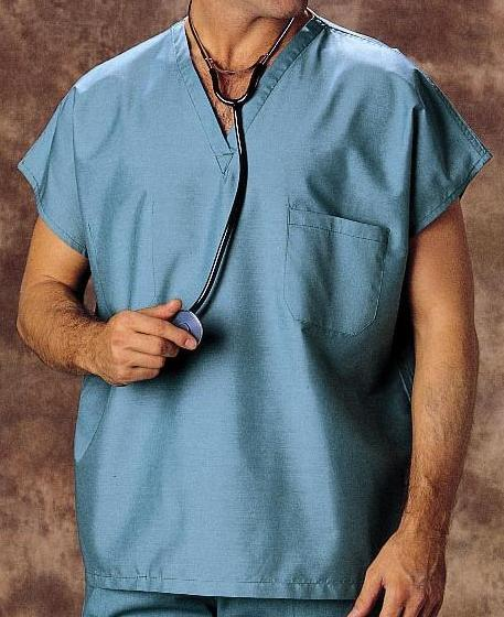 Reversible V Neck Scrub Top Unisex Taylor Nursing Scrubs
